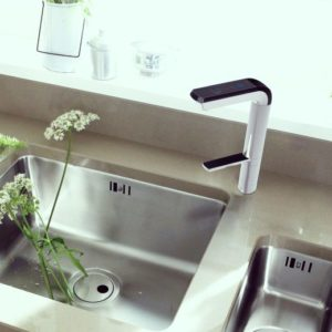 IonPlus towering over sink easily accommodates large pot